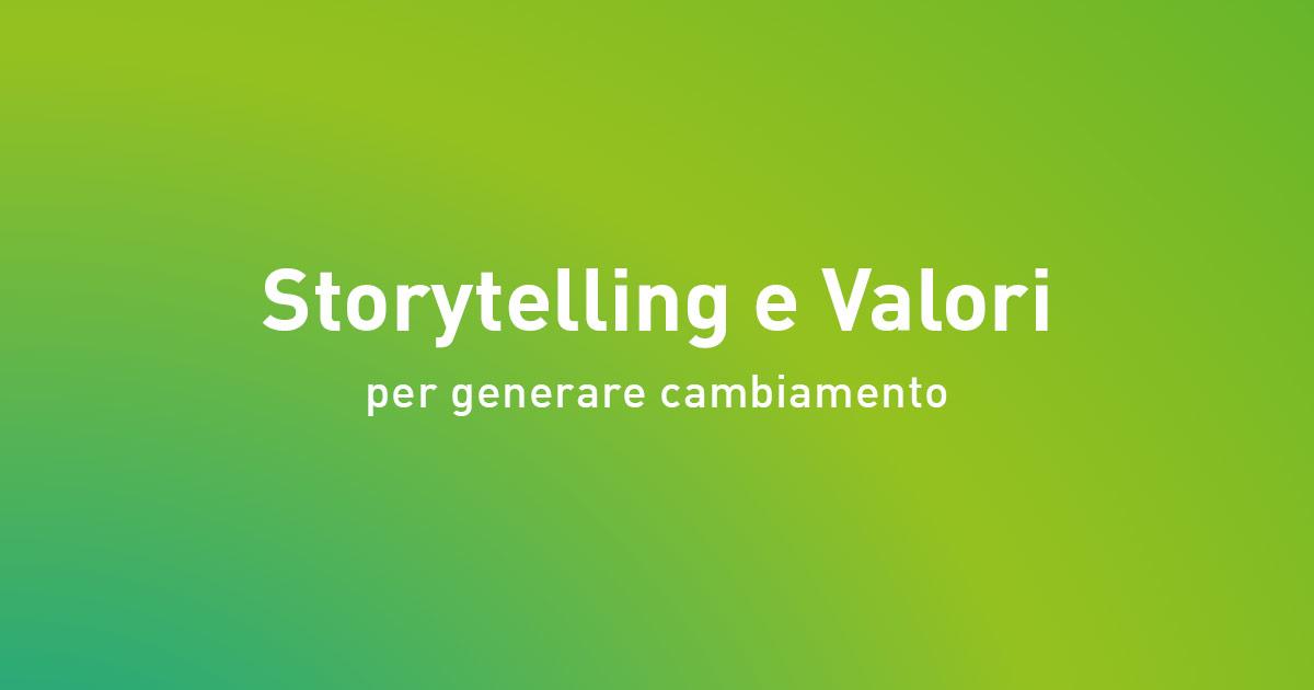 storytelling e valori