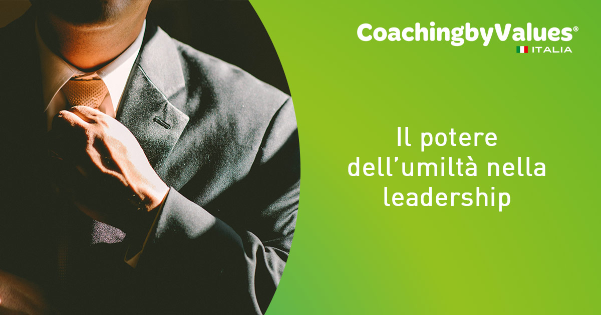Il potere dell'umiltà nella leadership