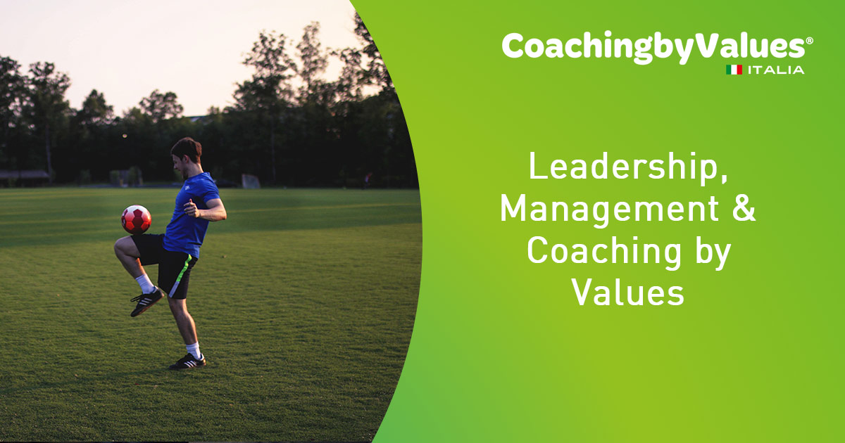 Leadership, Management & Coaching by Values