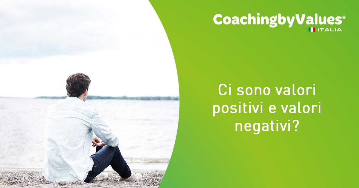 valori positivi e negativi